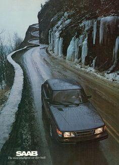 1980s Saab Ad The most intelligent car ever built.