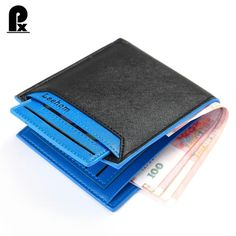 The feedback :I'm very satisfied mens wallet leather pu genuine luxury brand