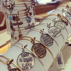 I'm in ! #shoppingwithmom #alexandani #bethegood @alexandani @ccdiamonds2389 Alex And Ani Rings, Alex And Ani Necklaces, Alex And Ani Bangles, Alex And Ani Jewelry, I Love Jewelry, Jewelry Box, Jewelery, Jewelry Ideas, Alex And Ani Disney