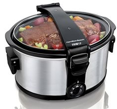 Stay or Go Large 7 Quart Portable Slow Cooker – 33472. This Large Capacity Hamilton beach 7 quart slow cooker is designed with portability in mind. A best seller designed that takes the convenience of slow-cooked dishes a giant step further by addressing … Continue reading HB 7 Qt. Slow Cooker (33472) - →