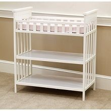 Child of Mine by Carter's Woodhaven Changing Table, Vintage White.
