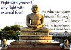 Teachings of Lord Mahavir Swami-Obtaining Happiness Happy Mahaveer Jayanti!
