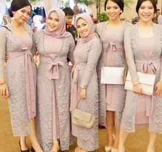 Satin Model Kebaya Brokat Modern, Dress Brokat Modern, Kebaya Modern Dress, Dress Muslim Modern, Kebaya Muslim, Dress Brokat Muslim, Kebaya Lace, Kebaya Dress, Dress Pesta