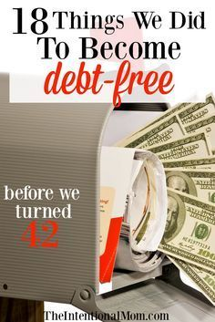 You too can become debt free with these money saving, frugal tips & straightforward tricks. It's not easy, but it can be done. You can do it via @www.pinterest.com/JenRoskamp