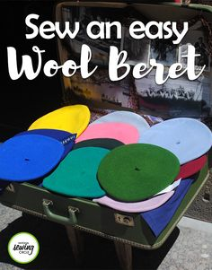 Jill Case shows us how we can create a fun new accessory! Learn how to make a wool beret in this sewing video. Watch as Jill shows you step by step how to create this fun and simple project – from choosing the right fabric to sewing it all together.