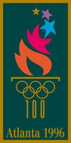 The evolution of the Olympic logo - Atlanta Winter Games in (IOC) Atlanta Olympics, Rio Olympics 2016, Summer Olympics, Atlanta Falcons, Atlanta Georgia, Game Font, Atlanta Travel, Olympic Logo, Southern Heritage