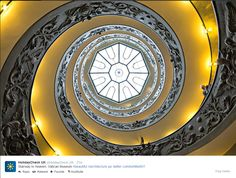 Stairway to Heaven - beautiful design of the Vatican Museum.