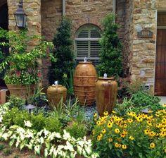 mediterranean garden styles, italian garden style, tuscan garden, Garten Ideen