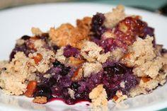 Budget Paleo...Made Easy: Blueberry Crisp...so delicious!