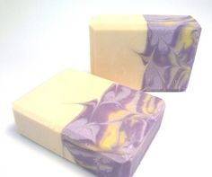Lavender Vanilla Cold Process Soap by siaelena on Etsy