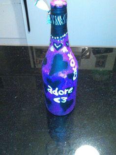 Valentines bottle