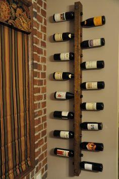 Suporte para taças na garrafa de vinho10
