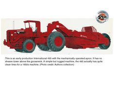 Heavy Machinery, Case Ih, International Harvester, Heavy Equipment, Vintage Ads, Scale Models, Monster Trucks, Automobile, Tractors