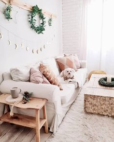 GET COZY - Everything for a cuddly home! Our secret recipe for 100 percent more coziness in the home? Simply many fluffy pillows and skins, candles and fairy lights for warm light and decorative feel-good Decor, Sofa Pillows, Living Room Sets, Living Room Sofa, Bohemian Style Bedding, Bohemian Home, Trending Decor, Home Decor, Bohemian Decor