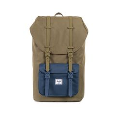 Herschel Supply Co. Little America Rubber, Army/Navy, One Size