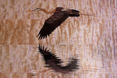 Heron Marquetry