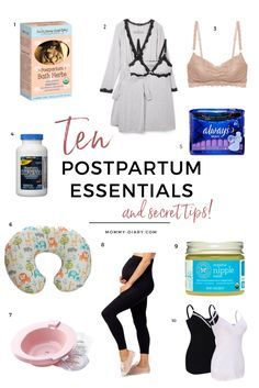 Ten Postpartum Essentials And Tips For New Mothers