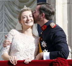 Prince Guillaume of Luxembourg marries Countess Stephanie