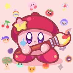 He's inviting you! If you accept, you will make him happy uvu Paint with him Animal Crossing Characters, New Animal Crossing, Kirby Character, Character Design, Kirby Nintendo, Nintendo Characters, Fan Art, Kawaii Wallpaper, Cute Drawings