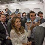 Samsung a donné gratuitement des Galaxy Note 8 à tous les passagers dun avion