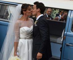 Flavia Pennetta e Fabio Fognini si sono sposati nella Basilica minore di Ostuni. In Puglia, per celebrare le nozze della coppia d'oro del tennis italiano