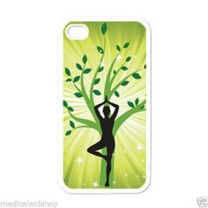 Unbranded Glossy Cell Phone Fitted Cases/Skins for Apple Asana, Tree Of Life, Chakra, Yoga, Chakras