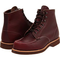 """RED WING OXBLOOD 6"""" MOC BOOT"""