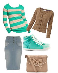 """""""Casual day."""" by kristina-norrad... I do not like the shoes but everything else I ❤ liked on Polyvore"""