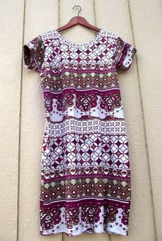 easy shift dress pattern! One pattern in multiple fabrics. Tutorial. * boah das wär ja genial !!