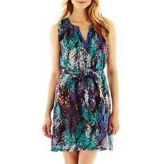 jcpenney.com | Fynn & Rose Split-Neck Dress