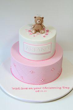 Christening cake | Flickr - Photo Sharing!