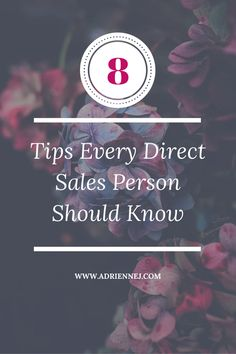 8 tips every direct sales person should know. Learn how to sell without being pushy. Don't scare your friends away!