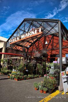 Granville Island Market - Vancouver, BC - The Barn