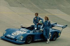ALPINE A441C 1975 Le Mans CREW Female Lella Lombardi-Marie Claude Beaumont.