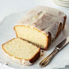 Lemon-Glazed Citrus-Yogurt Pound Cake