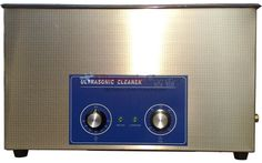 Ultrasonic Cleaner with Mechanical Timer 22L