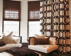 Motorized curtains/shades Motorized Shades, Motorized Blinds, Curtain Ideas, Curtains With Blinds, New Homes, Retro, Interior, Furniture, Home Decor