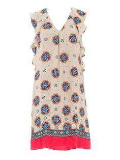 Викрійка сукня прямого крою з воланами  купити викрійки 0267c30951dbe