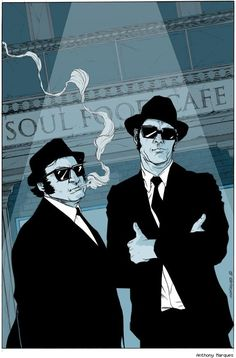 Blues Brothers by Anthony Marques