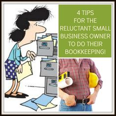 4 Tips for the reluctant small business owner to do their bookkeeping! http://www.myofficebooks.com/blog/4-tips-for-reluctant-small-business-owners-to-do-their-bookkeeping/ #smallbusiness #Myofficebooks