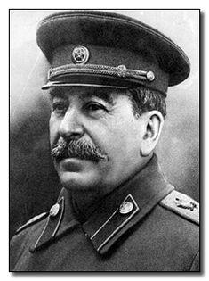 Iosif Vissarionovič Džugašvili, conosciuto come Stalin (Gori, 21 dicembre 1879, 6 dicembre del calendario giuliano – Mosca, 5 marzo 1953), è stato uno statista, politico e dittatore sovietico bolscevico, Segretario Generale del Partito Comunista dell'URSS e leader di tale Paese dal 1924 al 1953.
