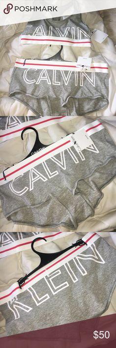 Selling this Calvin Klein Set! on Poshmark! My username is: bellamusillami. #shopmycloset #poshmark #fashion #shopping #style #forsale #Calvin Klein Underwear #Other