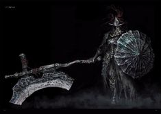 View an image titled 'Dragonslayer Armor Art' in our Dark Souls III art gallery featuring official character designs, concept art, and promo pictures. Dark Souls 3, High Fantasy, Dark Fantasy Art, Dark Souls Characters, Monster Characters, Soul Art, Fantasy Armor, Bloodborne, Drawing Tips
