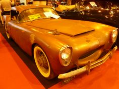 Woodill 1955 Wildfire, motorisation Ford 100HP, 3,8L en fibre de verre (1952).