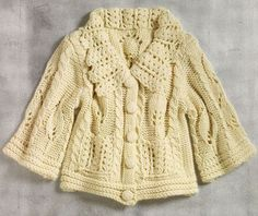 knitting cable jacket