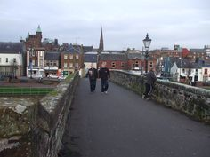 Dumfries, Scotland, Home of Robert Burns, 6th great-grandfather.