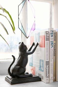 Cat Bookend Set: POPSUGAR