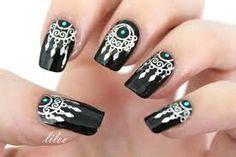Bohemian nail art