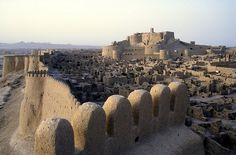 Arg-e Bam , Iran (Citadel of  Bam, Unesco world heritage) by frans.sellies, via Flickr