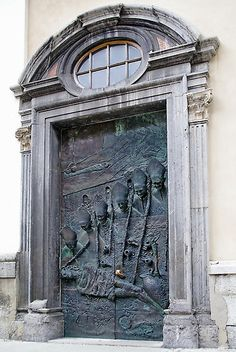 LJublana, Slovenia There's a picture of me standing at this door !!!!   Such a beautiful place !